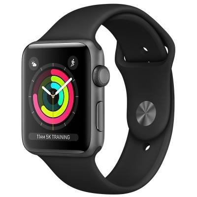 Chytré hodinky Apple Watch 3 GPS 38mm černé