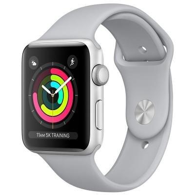 Chytré hodinky Apple Watch 3 GPS 42mm stříbrné