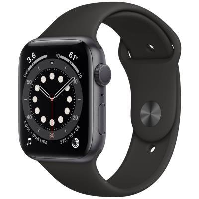 Apple Watch 6 GPS 44mm černé