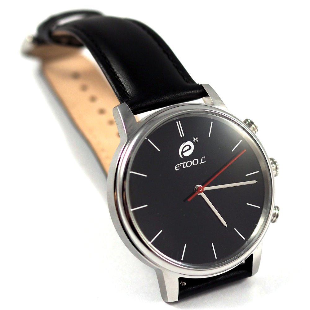 Chytré hodinky Deveroux SW9 stříbrné
