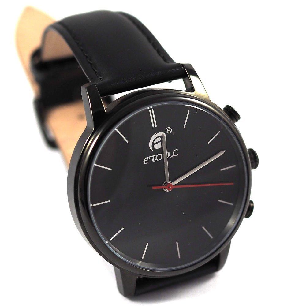Chytré hodinky Deveroux SW9 černé