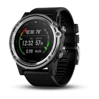 Chytré hodinky Garmin Descent Mk1 černo-stříbrné