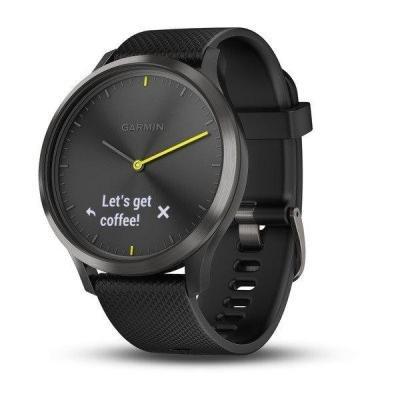 Chytré hodinky Garmin vívomove Optic Sport Black