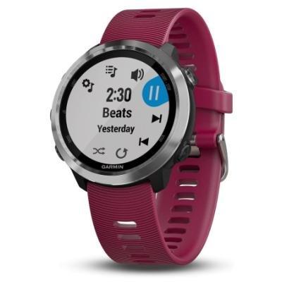 GARMIN GPS sportovní hodinky Forerunner 645 Optic Music červené