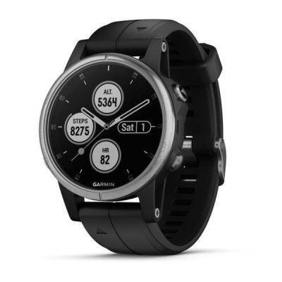 Chytré hodinky Garmin fenix5S Plus stříbrné
