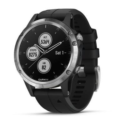 Chytré hodinky Garmin fenix5 Plus stříbrné