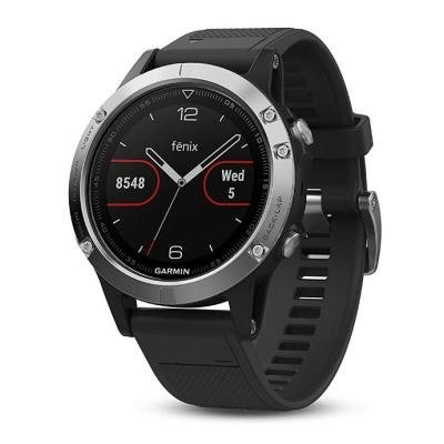 Chytré hodinky Garmin fenix5 stříbrno - černé