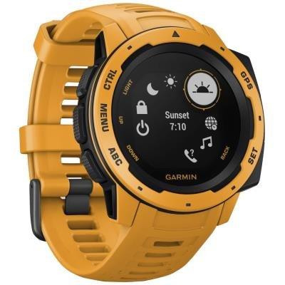 Chytré hodinky Garmin Instinct žluté