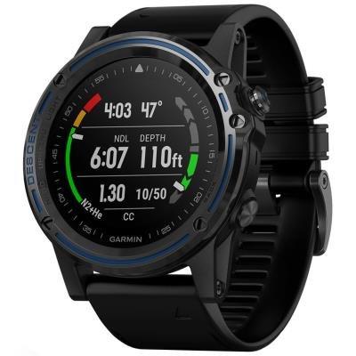 Chytré hodinky Garmin Descent Mk1 šedo-černé
