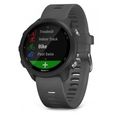 GARMIN GPS sportovní hodinky Forerunner 245 Optic břidlicová