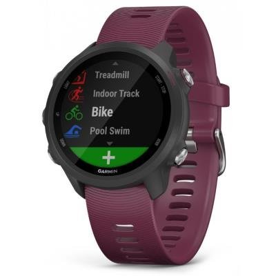 Sportovní hodinky Garmin Forerunner 245 Optic Red