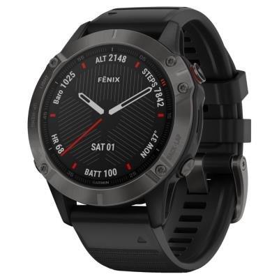 Chytré hodinky Garmin fenix6 Sapphire černé