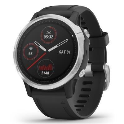 Chytré hodinky Garmin fenix6S Glass černo-stříbrné