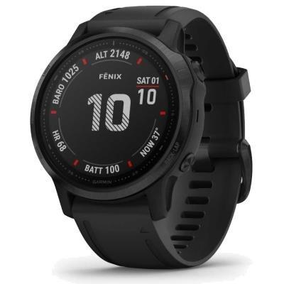 Chytré hodinky Garmin fenix6S Glass černé
