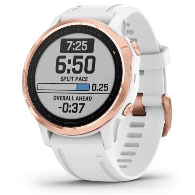 Chytré hodinky Garmin fenix6S Glass zlato-bílé