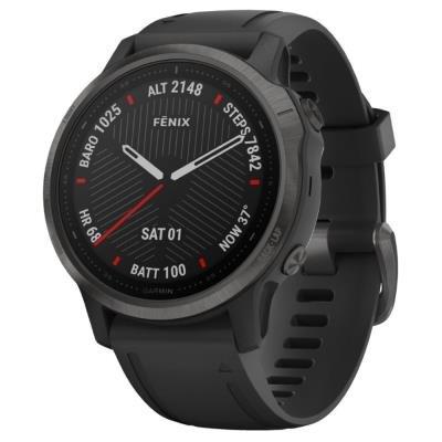 Chytré hodinky Garmin fenix6S Sapphire černé