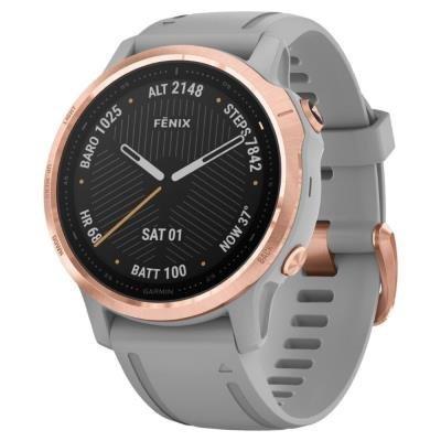 Chytré hodinky Garmin fenix6S Sapphire zlato-šedé