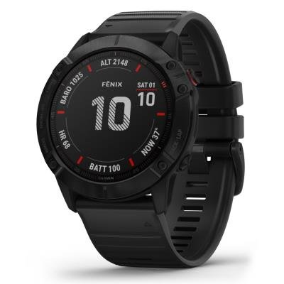 Chytré hodinky Garmin fenix6X Glass černé