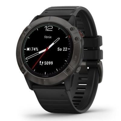 Chytré hodinky Garmin fenix6X Sapphire šedé