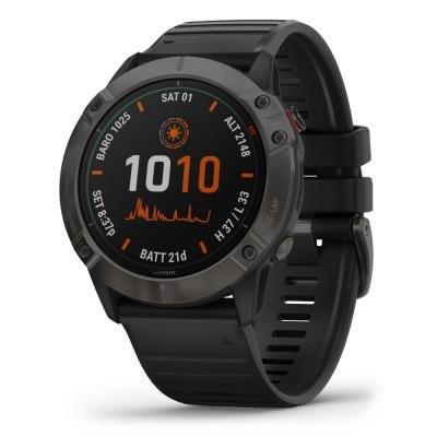 Chytré hodinky Garmin fenix6X Solar šedé