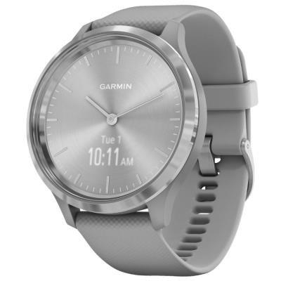 Chytré hodinky Garmin vivomove3 Sport stříbrné