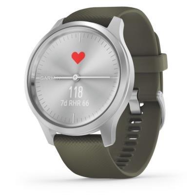 Chytré hodinky Garmin vivomove3 Style stříbrné