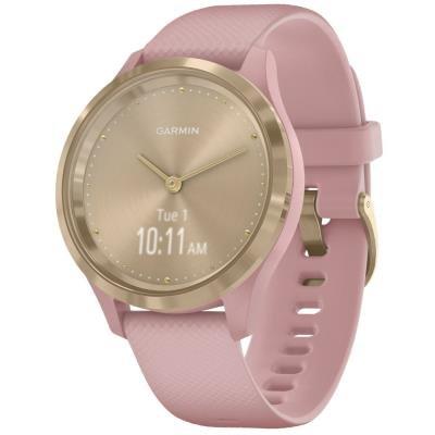 Chytré hodinky Garmin vivomove3S Sport růžové