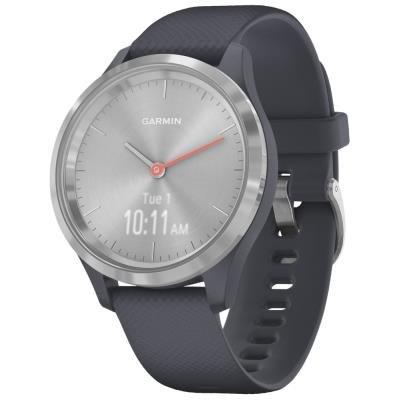 Chytré hodinky Garmin vivomove3S Sport stříbrné