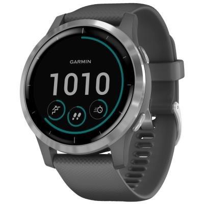 Chytré hodinky Garmin vívoactive4 stříbrné