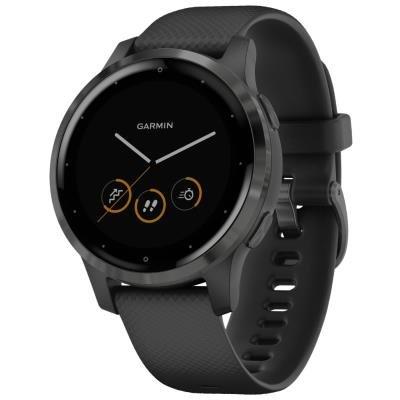Chytré hodinky Garmin vívoactive4S šedé
