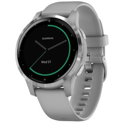 Chytré hodinky Garmin vívoactive4S stříbrné