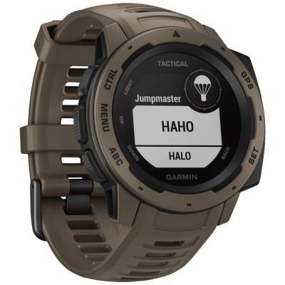 Chytré hodinky Garmin Instinct Tactical hnědé