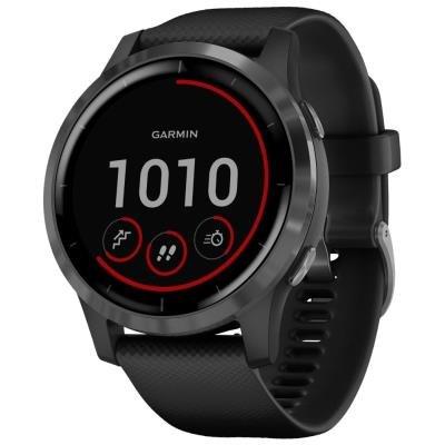 Chytré hodinky Garmin vívoactive4 šedo-černé