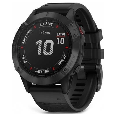 Chytré hodinky Garmin fenix6 Pro Glass černé