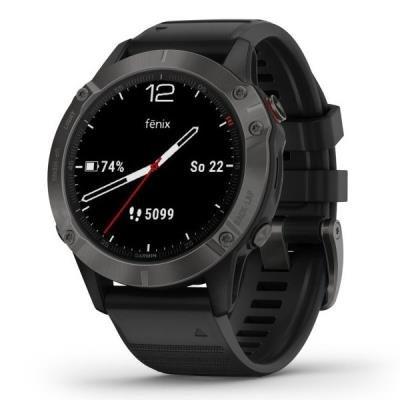 Chytré hodinky Garmin fenix6 Pro Sapphire černé