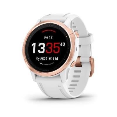 Chytré hodinky Garmin fenix6S PRO Glass bílé