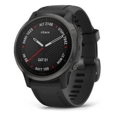 Chytré hodinky Garmin fenix6S PRO Sapphire černé