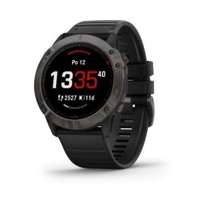 Chytré hodinky Garmin fenix6X PRO Sapphire černé