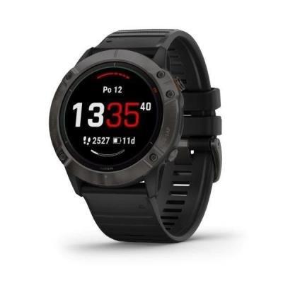 Chytré hodinky Garmin fenix6X PRO Solar černo-šedé