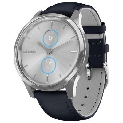 Garmin vivomove3 Luxe stříbrno-modré