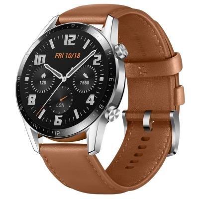 Chytré hodinky Huawei Watch GT 2 hnědé