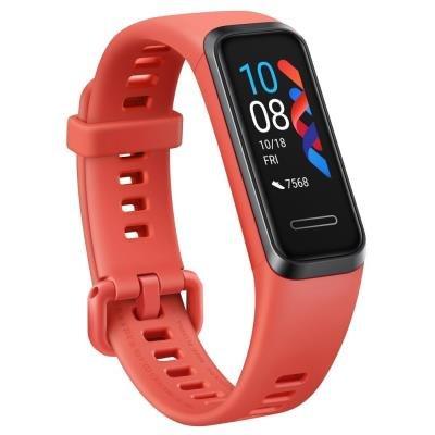 Chytrý náramek Huawei Band 4 červený