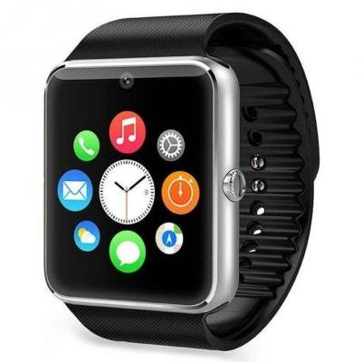 Chytré hodinky IMMAX SW6 stříbrné