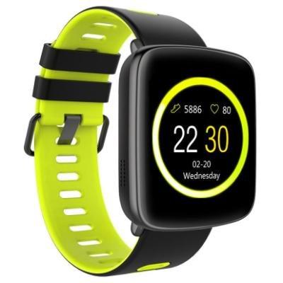 Chytré hodinky IMMAX SW9 černo-zelené