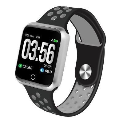Chytré hodinky IMMAX SW10 černo-stříbrné