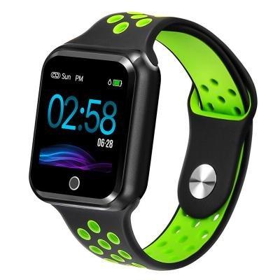 Chytré hodinky IMMAX SW10 černo-zelené