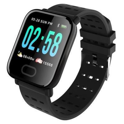 Chytré hodinky IMMAX SW11 černé