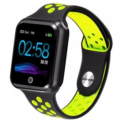 Chytré hodinky IMMAX SW10 černo-žluté
