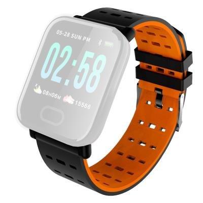 Řemínek IMMAX pro chytré hodinky SW11 oranžový