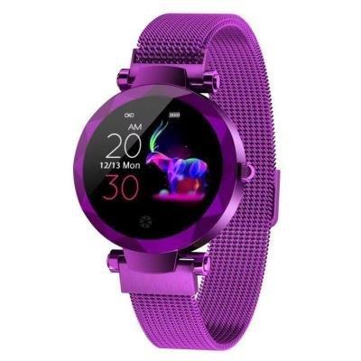 Chytré hodinky IMMAX SW12 fialové